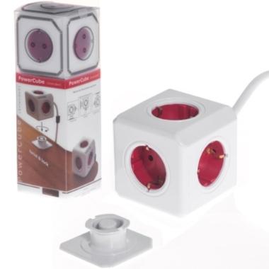Pagarinātājs PowerCube ar kabeli, 5 ligzdas, 1,5 m