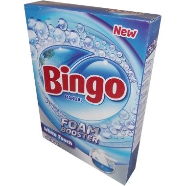 Veļas pulveris Bingo White, 400 g