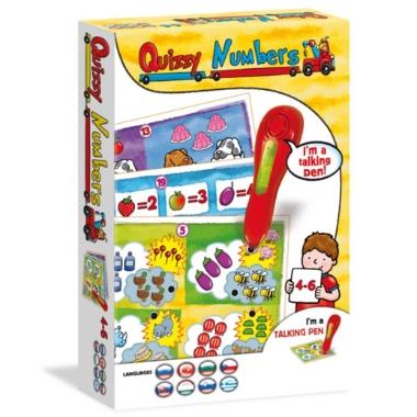 Spēle Quizzy Numbers ar runājošu pildspalvu
