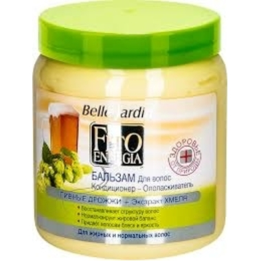 Matu balzams ar alu, Belle Jardin, 500 ml