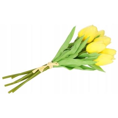 Tulpju pušķis, dzeltens