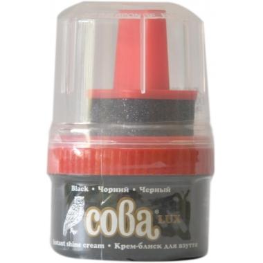 Apavu krēms melns Сова Lux, 50 ml