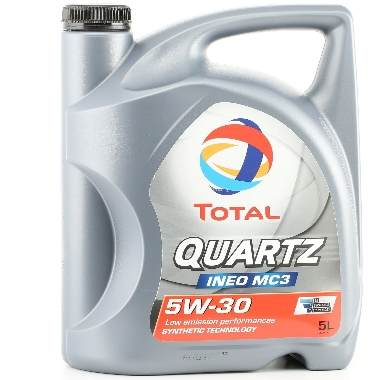 Motoreļļa Quartz Ineo MC3 5W30, 5 L