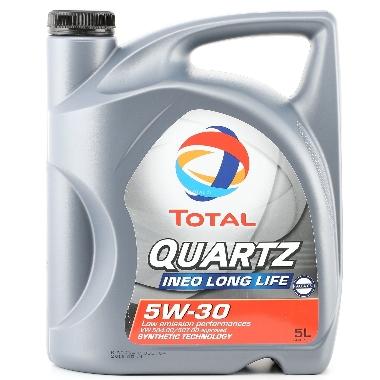 Motoreļļa Quartz Ineo Long Life 5W30, 5 L