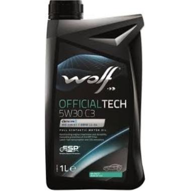 Motoreļļa Wolf OfficialTech C3 5W30, 1 L