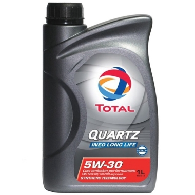 Motoreļļa Quartz Ineo Long Life 5W30, 1 L
