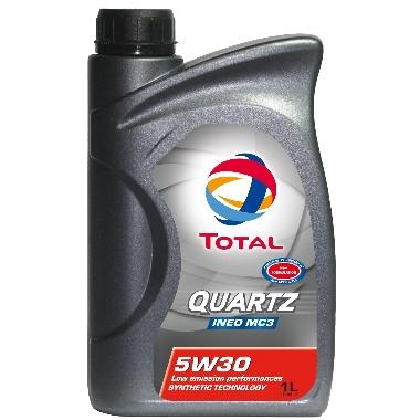 Motoreļļa TOTAL QUARTZ INEO MC3 5W-30, 1 L