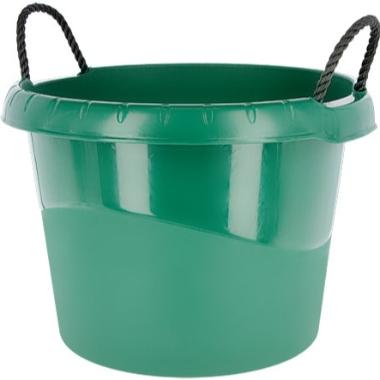 Spainis zaļš ar 2 rokturiem, 45 L