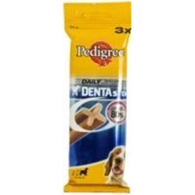 Suņu kauliņš Dentastix Pedigree 3 gab, 77 g