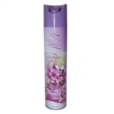 Gaisa atsvaidzinātājs ar ceriņu aromātu Simply Therapy, 300 ml