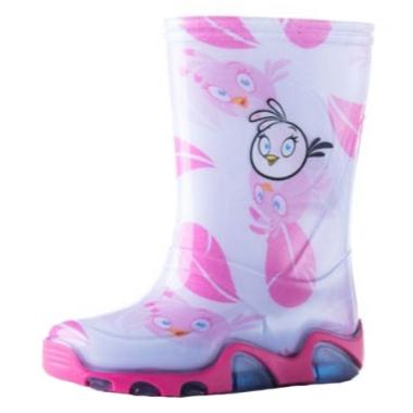 Gumijas zābaki Angry Birds, rozā
