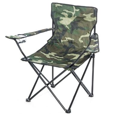 Kempinga krēsls kamuflāžas, Atom