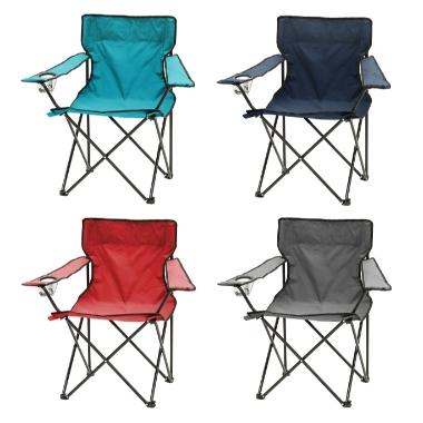Kempinga krēsls, Atom, krāsu sortiments, 1 gab.