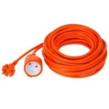 Pagarinātāja kabelis Verners Extension Cord, b/z, oranžs, 15 m