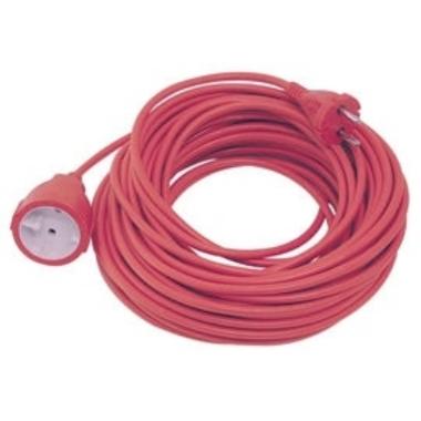 Pagarinātāja kabelis Verners Extension Cord, b/z, sarkans, 30 m