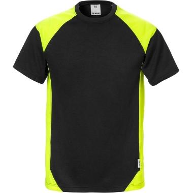 T-krekls melns 7046, Fristads