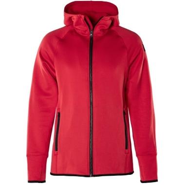 Sieviešu jaka Polartec ar kapuci sarkana, Fristads