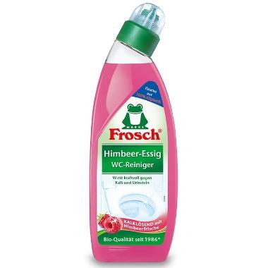 Tualetes tīrīšanas līdzeklis ar avenēm, Frosch, 750 ml