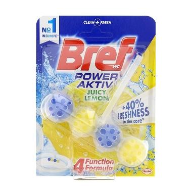 Tualetes bloks Power Active Bref Lemon, 50 g