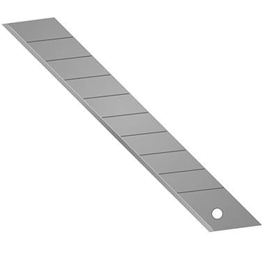 Papīra nažu asmeņu komplekts, 18 mm, 10 gab.