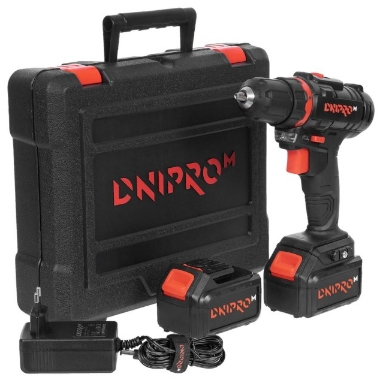 Akumulatora urbjmašīna CD-182 18V 2x2.0Ah, Dnipro-M