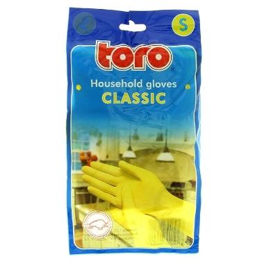 Gumijas mājsaimniecības cimdi Toro, S izmērs