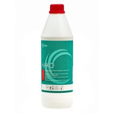 Skābs slaukšanas ierīču un piena vadu mazgāšanas līdzeklis Hako, 1 L