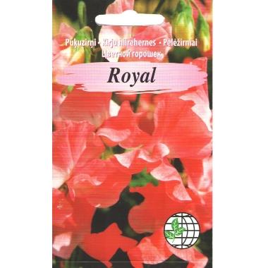 Puķuzirņi Royal sarkani, Agrimatco, 2 g