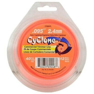 Trimmera aukla CyClone, Ø2,4mmx12m
