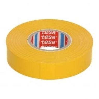 Izolācijas lente Tesa Professional dzeltena, 33m x 19mm