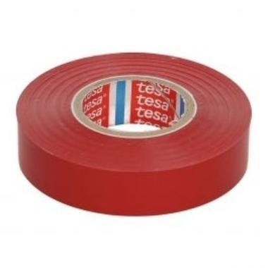 Izolācijas lente Tesa Professional sarkana, 33m x 19mm