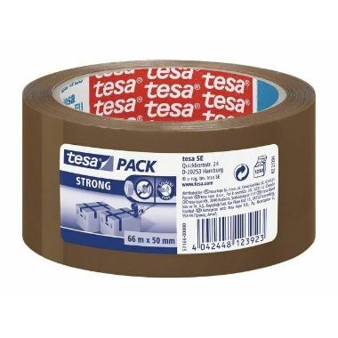 Līmlente Tesa Pack Strong brūna, 66m x 50mm