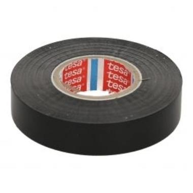 Izolācijas lente Tesa Professional melna, 33m x 19mm