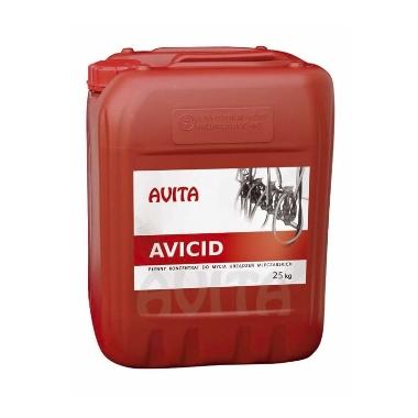 Koncentrāts slaukšanas iekārtu tīrīšanai Avicid, 25 kg