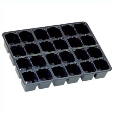 Dēstu kasete PL 2838, 38x28 cm, 24 šūnas