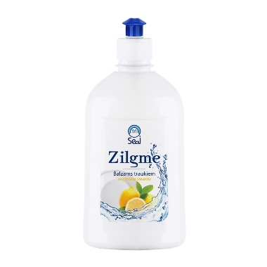 Trauku mazgāšanas līdzeklis citronu Zilgme, 500 ml