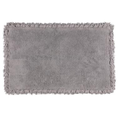 Paklājs vannas istabai 4living, pelēks, 50x80 cm