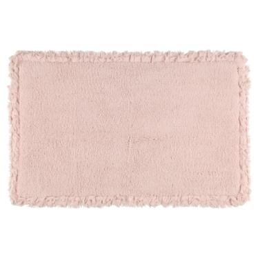 Paklājs vannas istabai 4living, rozā, 50x80 cm
