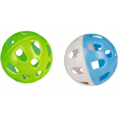 Rotaļu bumbas kaķim, 5 cm, 2 gab.