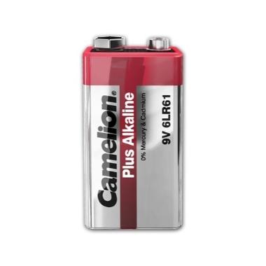 Baterija Camelion Plus Alkaline 6LR61, 9 V, 1 gab.