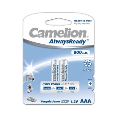 Baterijas lādējamas Camelion AAA, 1.2 V, 2 gab.