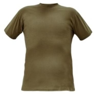 T-krekls Teesta olive green