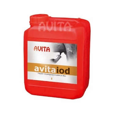 Tesmeņa dezinfekcija pēc slaukšanas AvitaIod, 5 kg