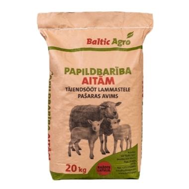Pilnvērtīga barība granulēta aitām un kazām, 20 kg