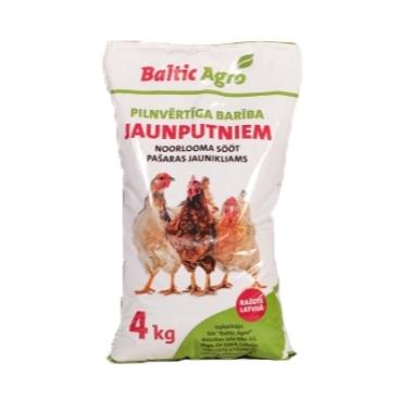 Pilnvērtīga barība jaunputniem 7-16 ned., 4 kg