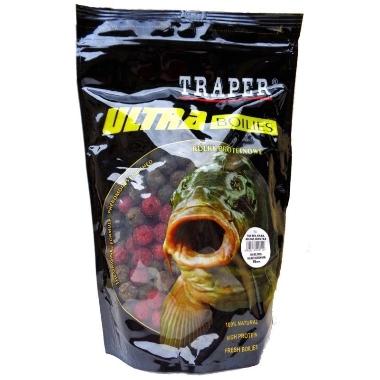 Papildbarība zivīm boilas MIX 16mm Traper, 500 g