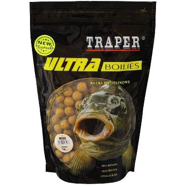 Papildbarība zivīm boilas medus 16mm Traper, 500 g