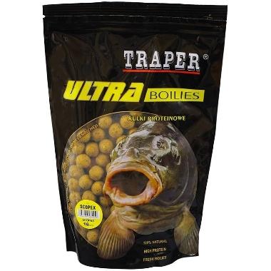 Papildbarība zivīm boilas scopex 16mm Traper, 500 g