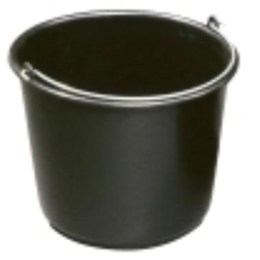 Spainis celtniecības plastmasas melns, 5 L