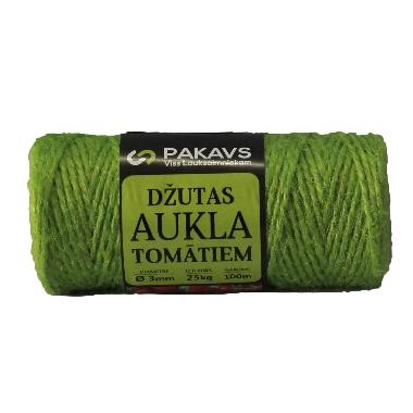 Džutas aukla tomātiem zaļa, 100 m